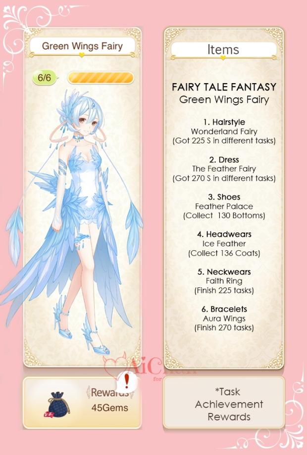 Green Wings Fairy