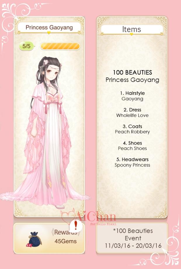 Princess Gaoyang