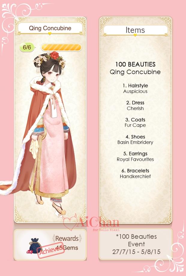 Qing Concubine