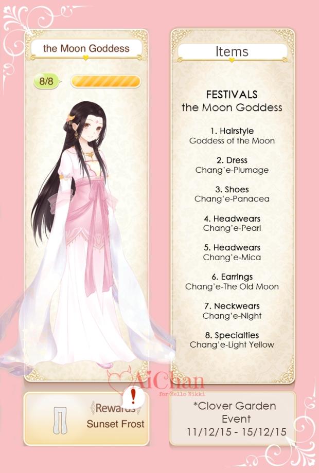 the Moon Goddess Chang'e